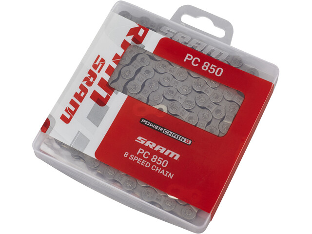 SRAM PC-850 Bicycle Chain 8-fold silver
